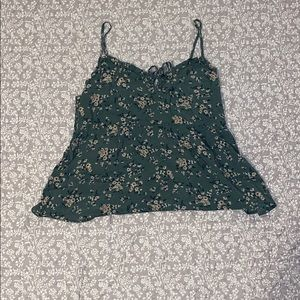 Cropped Babydoll top